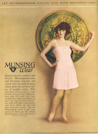Munsingwear, Womens Underwear, USA (1920)