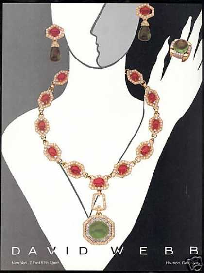 David Webb Jewelry Deco Art (1982)