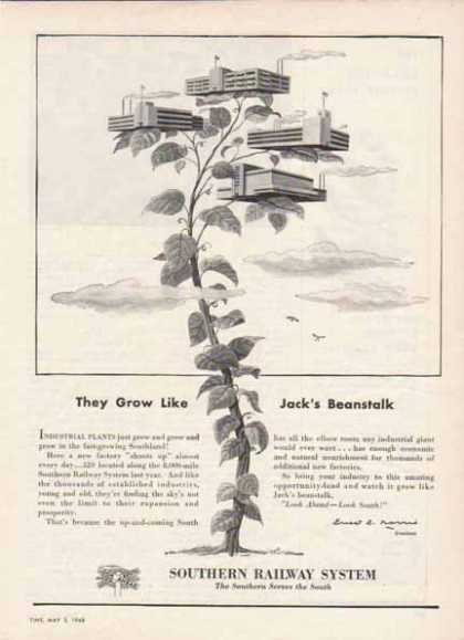 Southern Railway System – Jack's Beanstalk (1948)