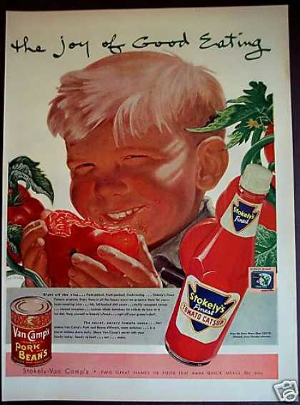 Stokely's Catsup and Van Camp's Beans (1953)