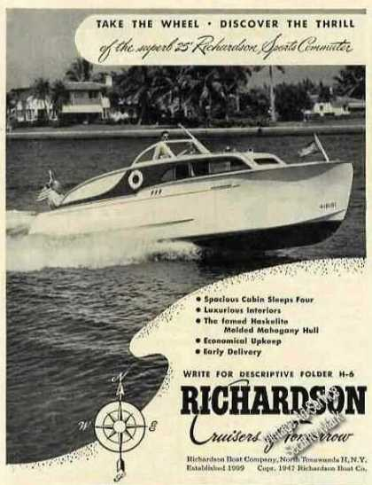 Richardson 25 Sports Commuter N Tonawanda Ny (1947)