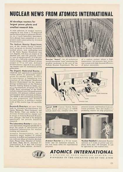 Atomics International Nuclear Reactors (1957)