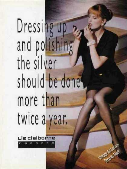 "Liz Claiborne Dresses ""More Than Twice a Year"" (1992)"