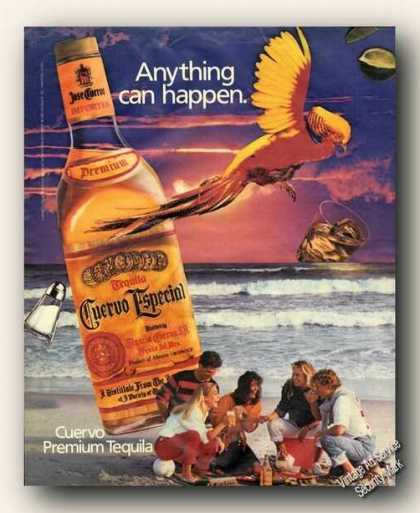 Anything Can Happen Cuervo Tequila Beach (1984)