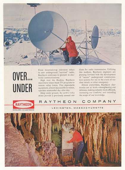 '61 Raytheon Mountain Top TV Relay Underground Radio (1961)
