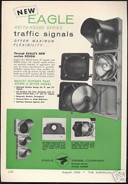 Eagle Traffic Light Signals Vintage (1959)