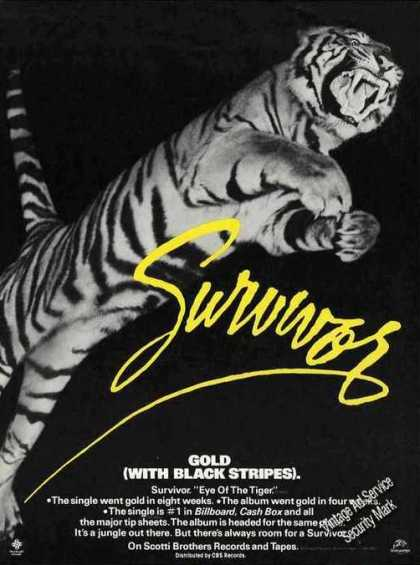 "Survivor ""Eye of the Tiger"" Music (1982)"