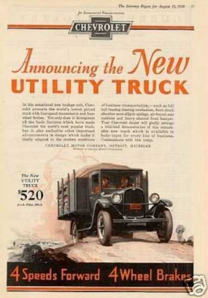 Chevrolet Truck Color (1928)