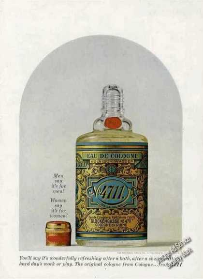 No. 4711 Eau De Cologne Collectible (1963)