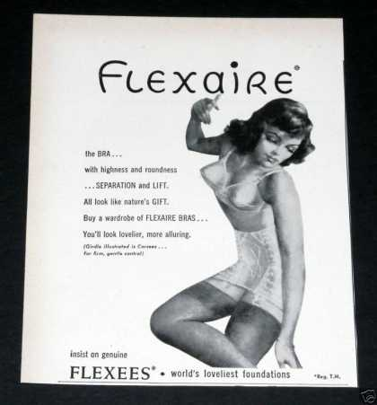 Old , Flexaire Bras & Foundation (1949)