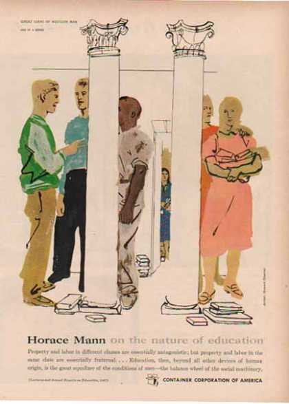 Container Corp. of America – Horace Mann (1948)