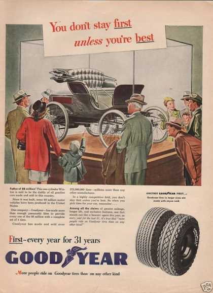 Good Year Larger Size Tires (1946)