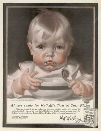 An Advertisement for Kellogg's Cornflakes