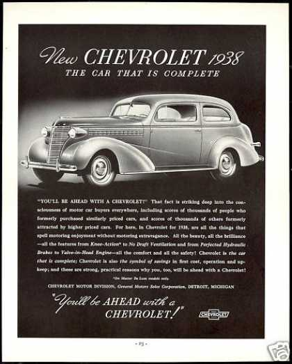 Chevrolet 2 Door Vintage Car (1938)