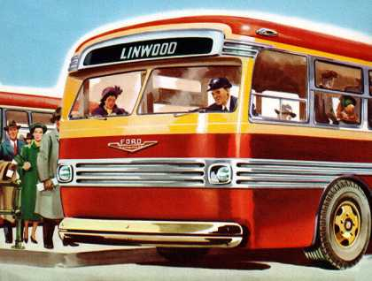 Ford 27-Passenger Motor Coaches for (1953)