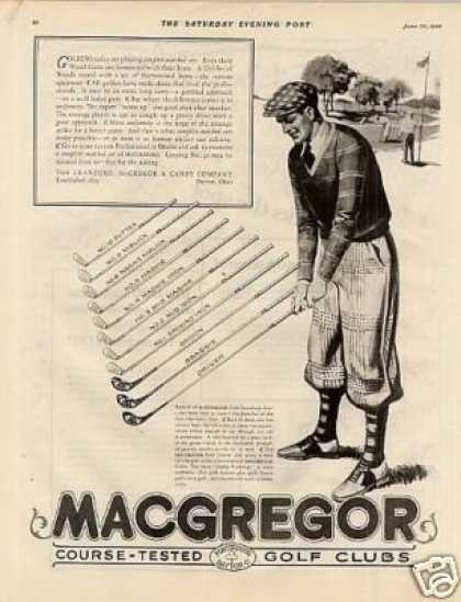 Macgregor Golf Clubs (1928)