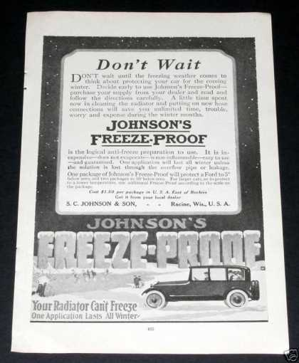 Johnsons Radiator Freeze Proof (1919)