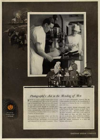 Kodak – Photography's Aid in the Mending of Men (1919)