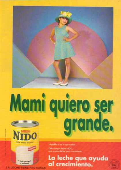 Nestle Company &#8211; Nido Spanish (1993)