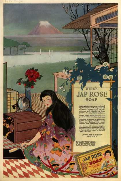 James S. Kirk &amp; Co.&#8217;s Jap Rose Soap &#8211; Kirk&#8217;s Jap Rose Soap (1918)