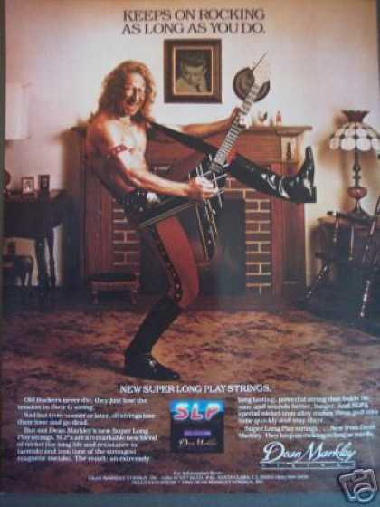 Old Rockers Never Die Guitar Hero Dean Markley (1985)