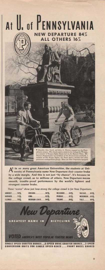 New Departure Greatest Bicycle (1941)