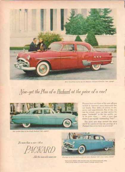 Packard Car – Patrician, Club Sedan, 300 (1951)