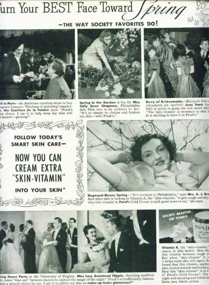 Pond's Cold Cream Mrs. A. J. Drexel Iii (1939)