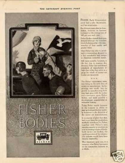 Body By Fisher Ad Barclay Art (1925)