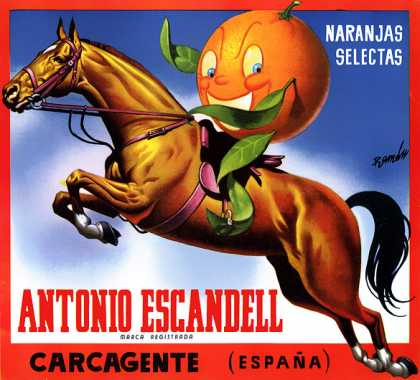 Antonio Escandell Oranges, c. s (1940)