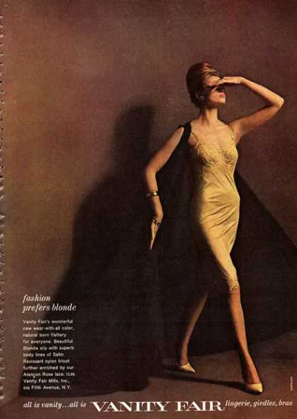 Vanity Fair Fashion Pretty Model Lingerie (1962)