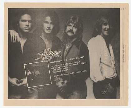 Player Danger Zone Album Promo (1978)