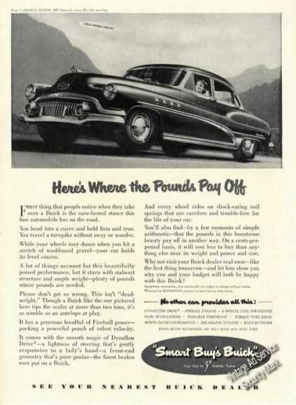 Buick Where Pounds Pay Off Antique Car (1951)
