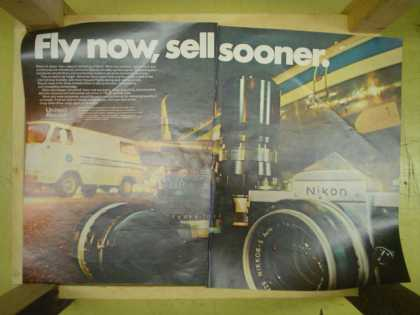 United Aircraft Fly now sell sooner. Nikon Camera (1968)