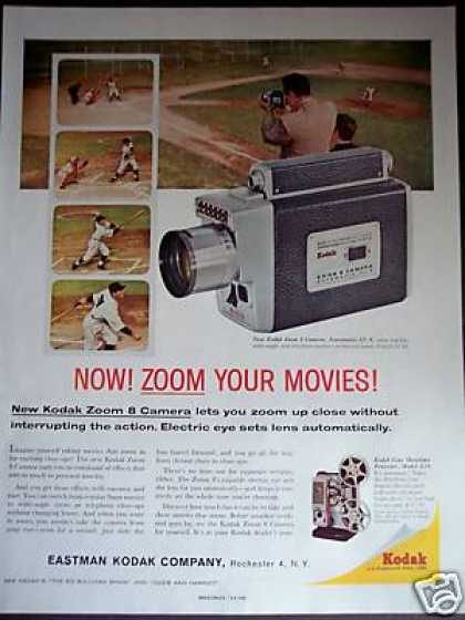 Kodak Zoom 8 Movie Camera (1960)