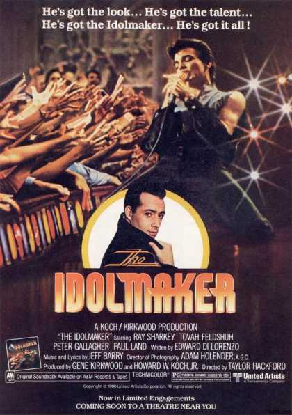 United Artist's The Idolmaker (1981)