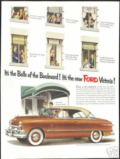 Ford Victoria Car Hotel Doorman Vintage (1951)