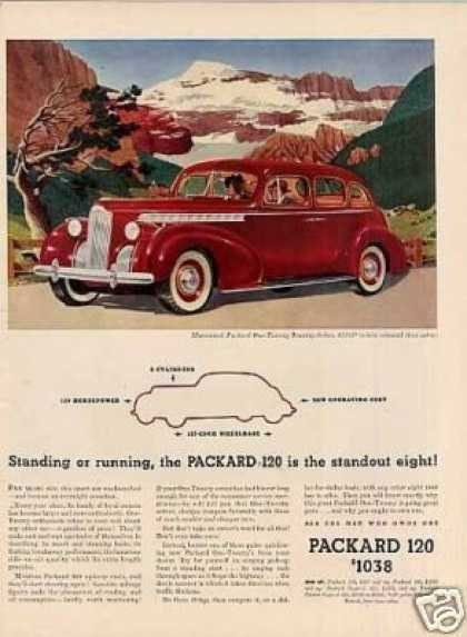 Packard 120 Touring Sedan Color (1940)