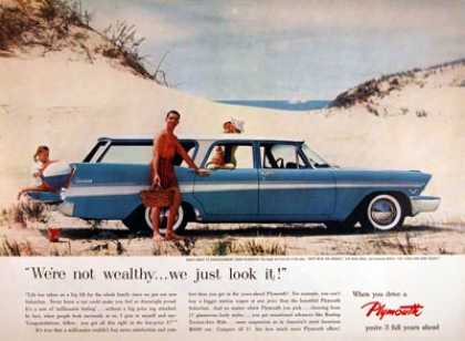Plymouth Suburban Station Wagon #2 (1957)