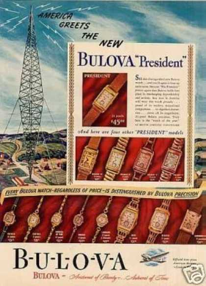 Bulova Watches (1940)