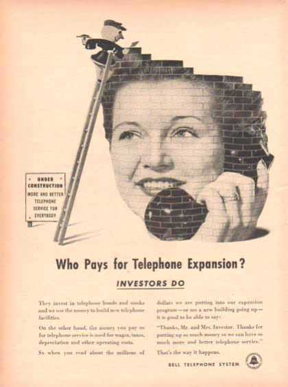Bell Telephone System – Who Pays for Telephone Expansion? (1948)