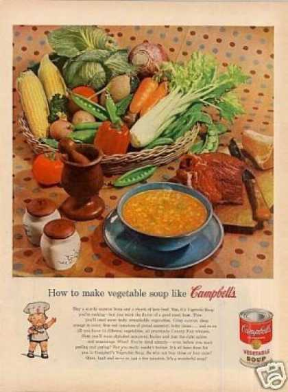 Campbell's Vegetable Soup (1954)
