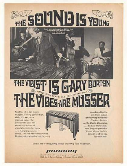 Gary Burton Musser Vibes Photo (1968)