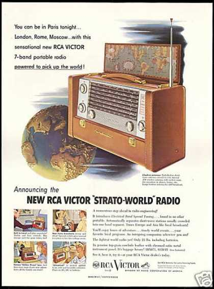 RCA Victor 7 Band Strato World Radio (1953)