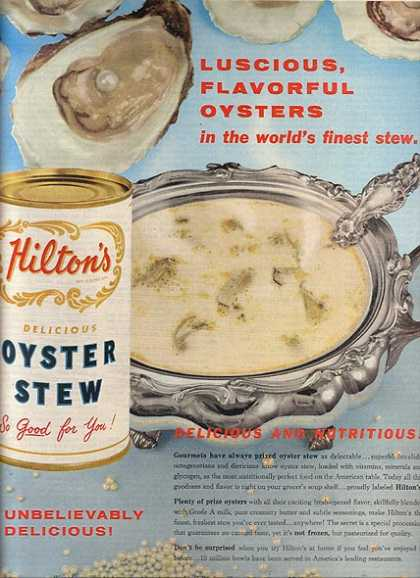 Hilton's Oyster Stew (1960)