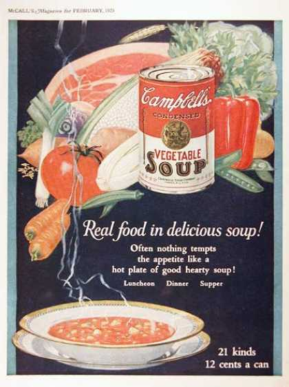 Campbell's Soup #2 (1925)