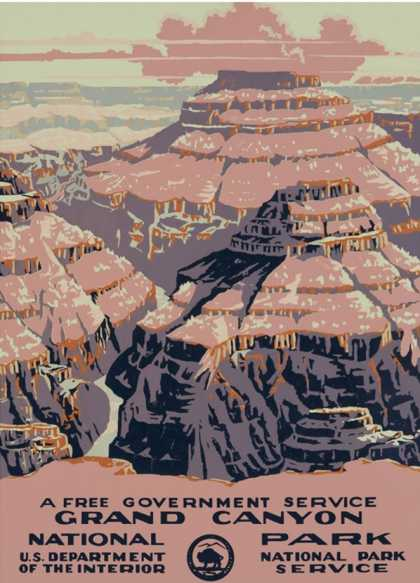 Grand Canyon National Park (1938)