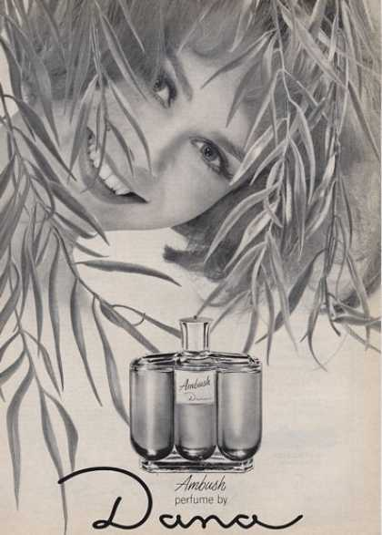 Dana Features Ambush Perfume Bottle (1964)