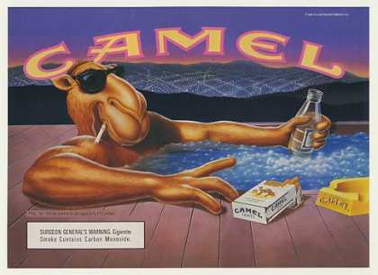 Joe Camel in Hot Tub Cigarette (1991)