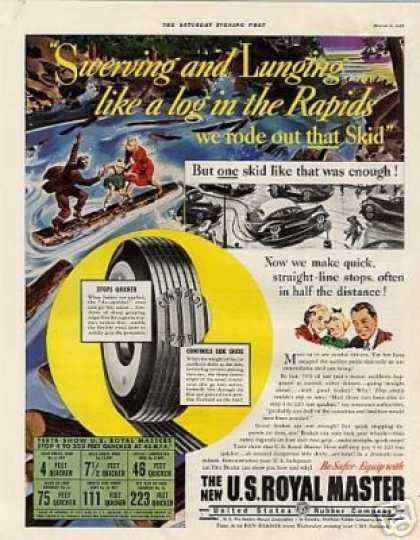 U.s. Royal Master Tires (1938)